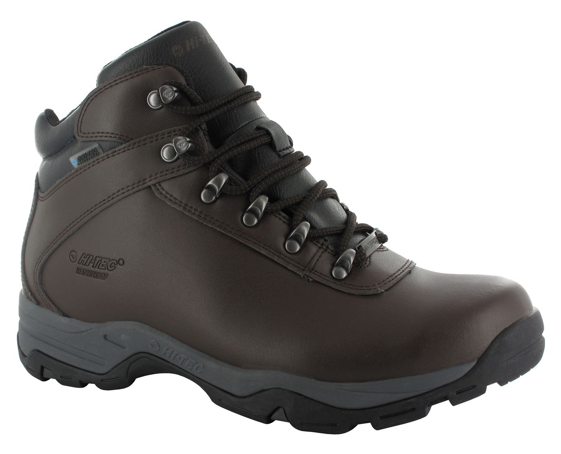 hi tec eurotrek 3 iii waterproof mens leather walking