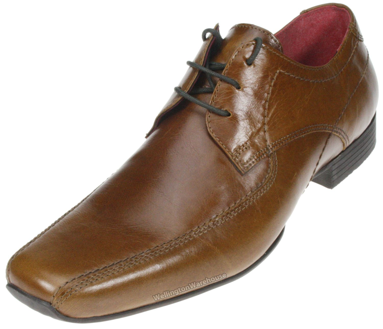 sandbach brown slip on leather smart formal