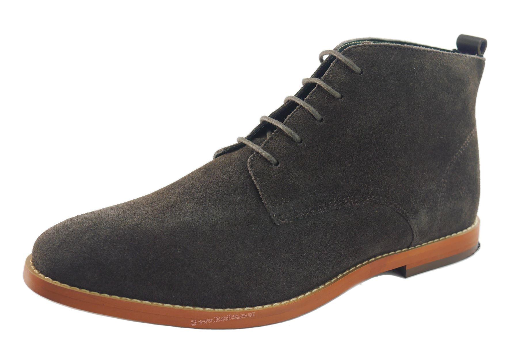 Mens Fashion Desert Boots