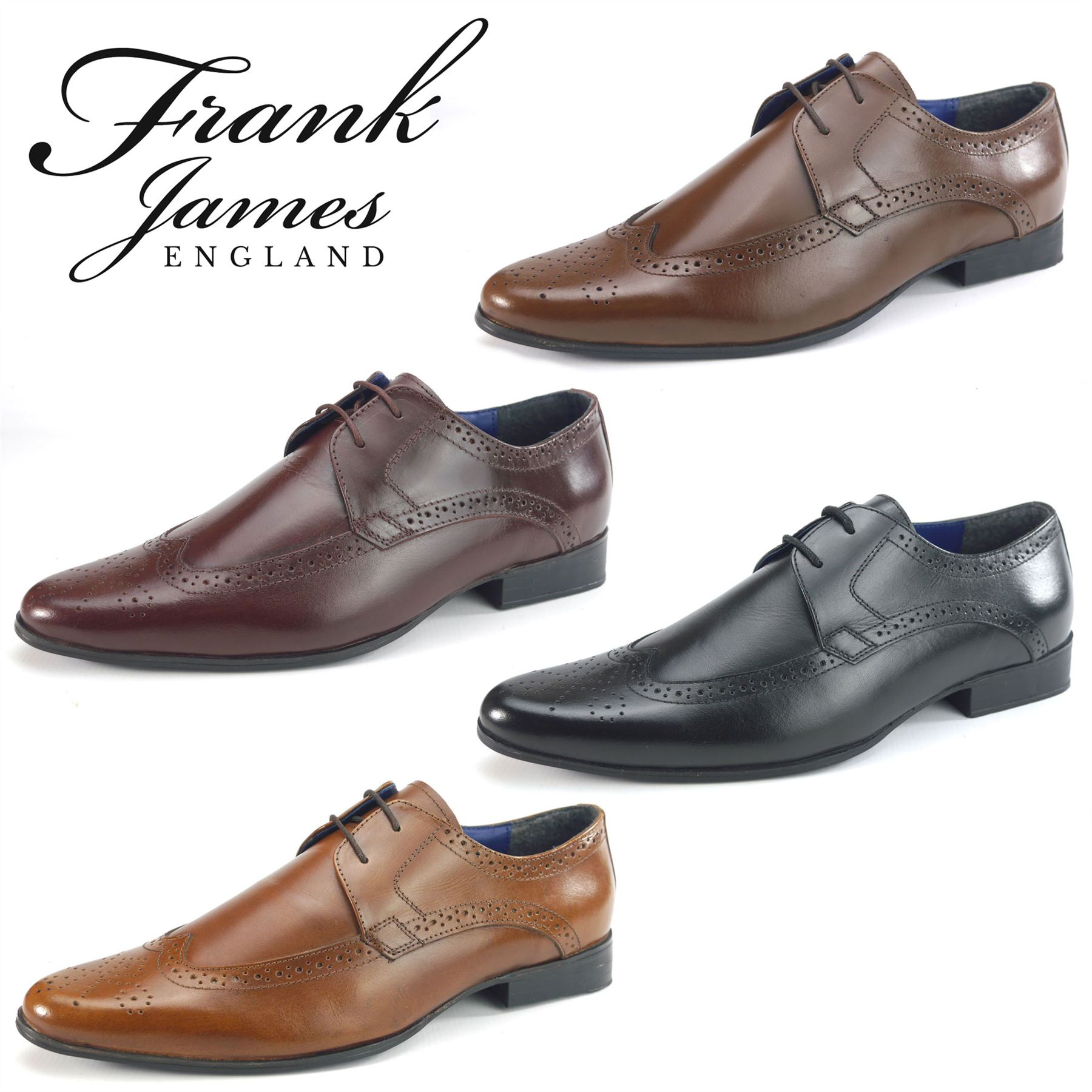 Mens Fashionable Wide Fitting Shoes