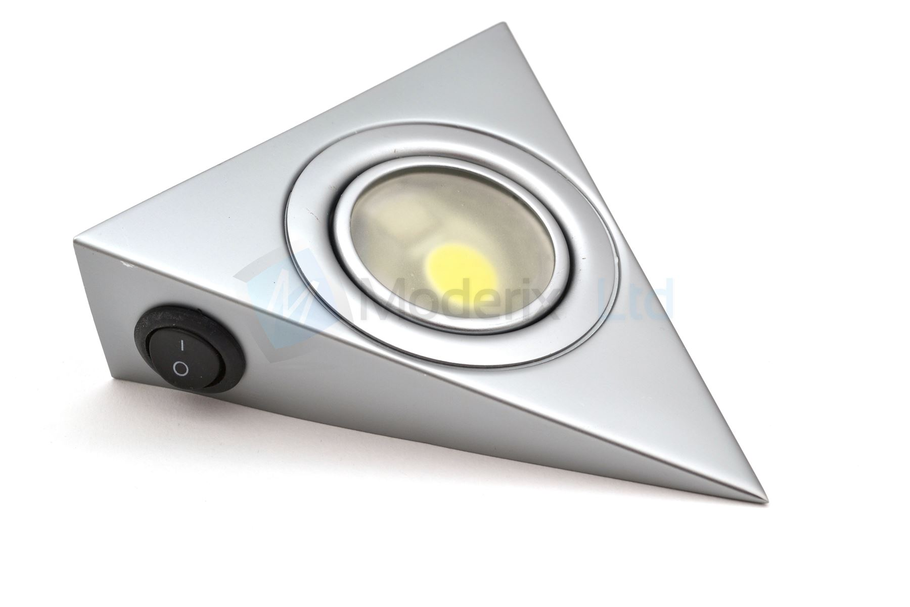 LED Triangle with switch Aluminium Kitchen Under Cabinet Light Set ...