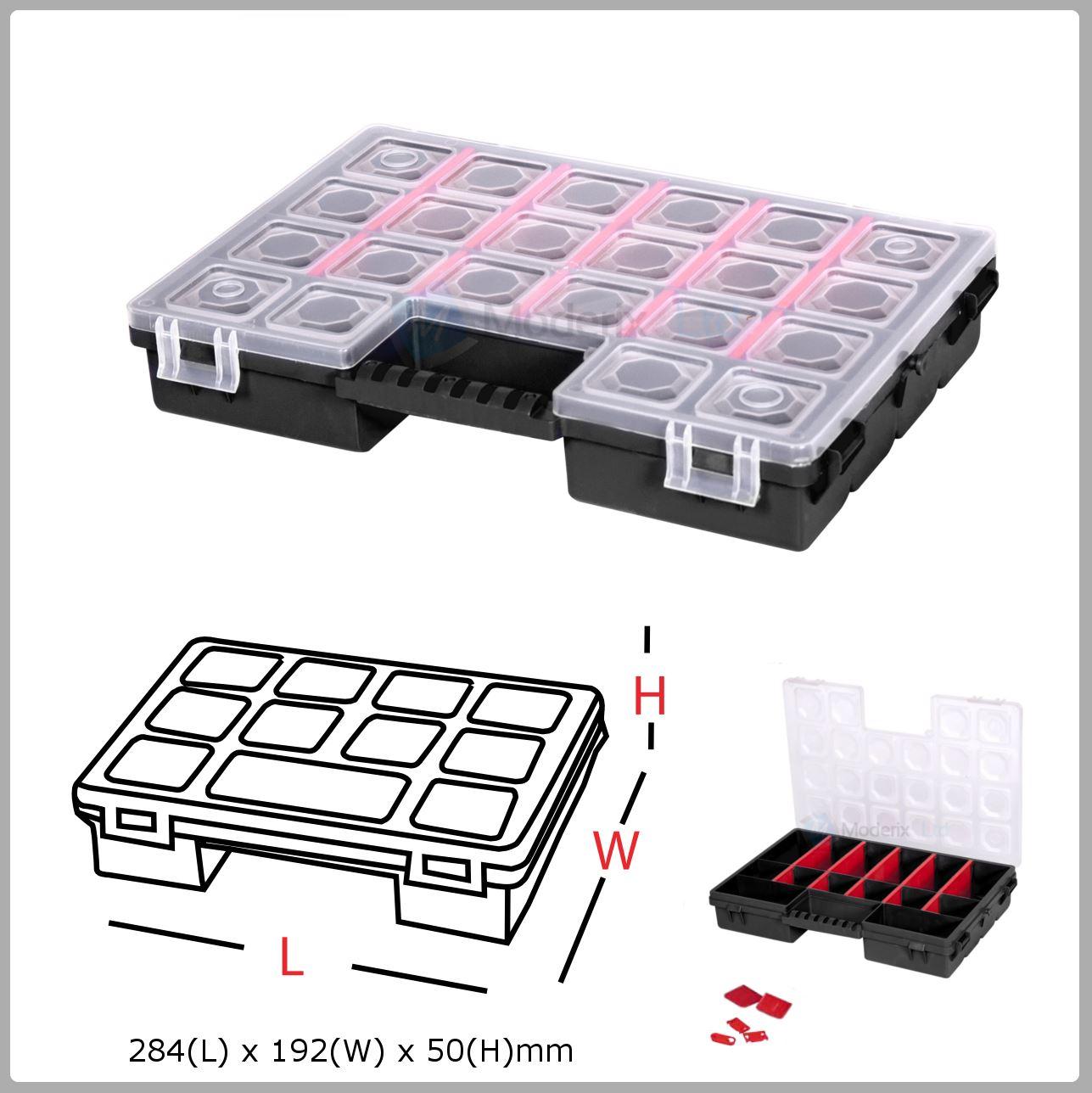 14 Compartiment Plastique Organiseur Boite De Rangement