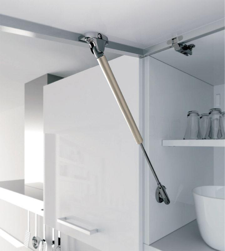 Kitchen cabinet door gas strut lift stay 50 60 80 100 120 for Amortisseur de porte de cuisine