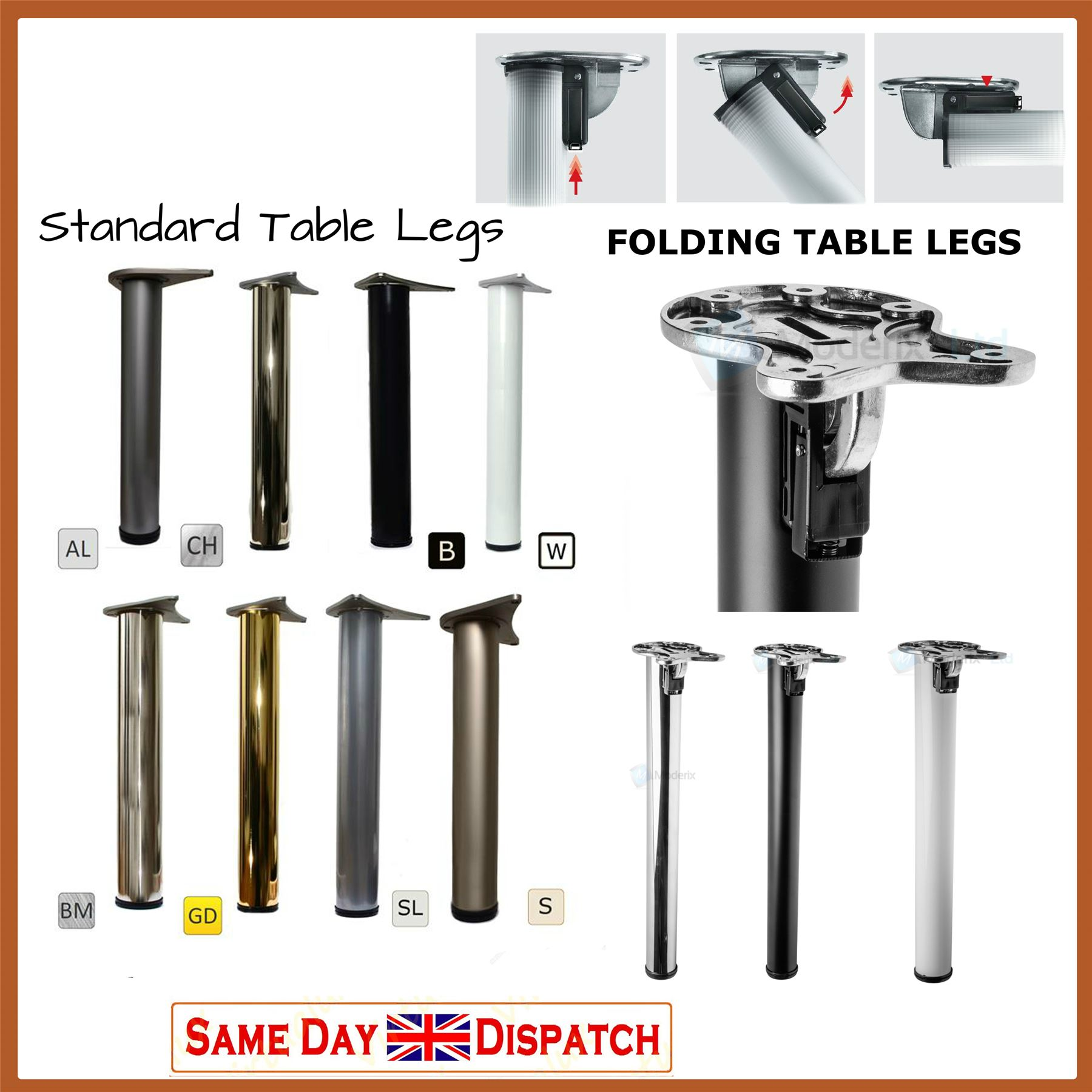 Breakfast Bar With Stainless Steel Tripod Leg photo - 6