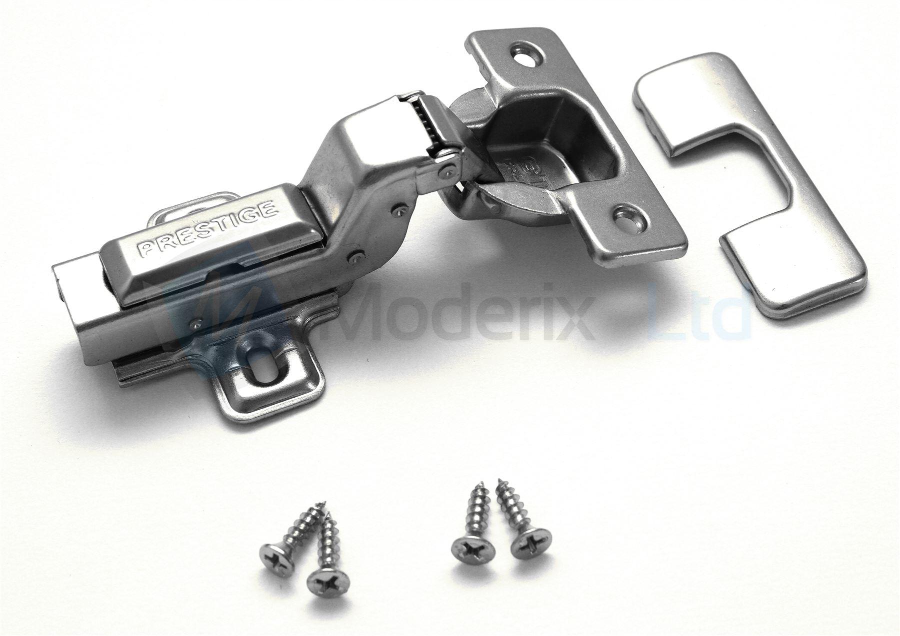 35mm SOFT CLOSE KITCHEN CABINET CUPBOARD DOOR HINGES FULL HALF