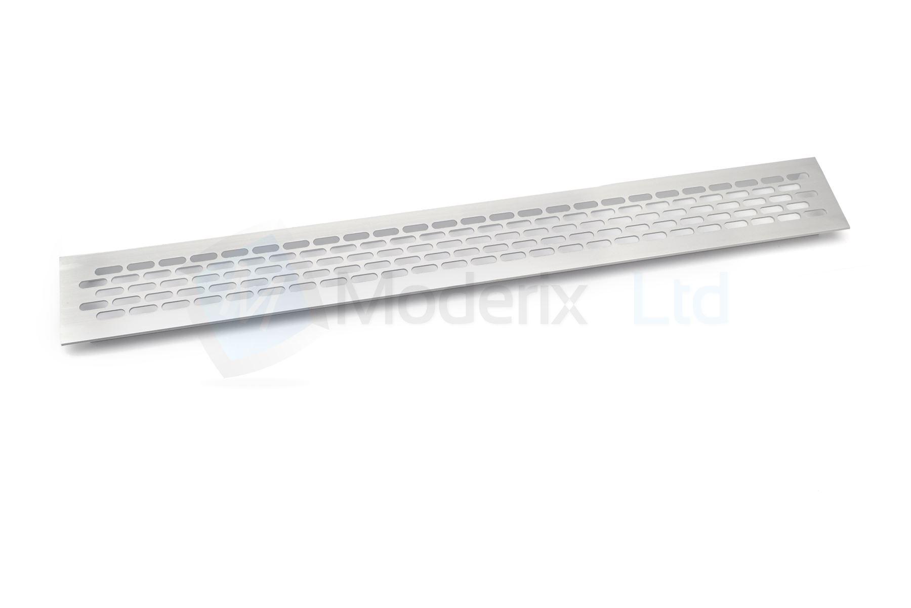 plinthe cuisine grille ventilation aluminium plan de travail chaleur 480 x 60 mm ebay. Black Bedroom Furniture Sets. Home Design Ideas