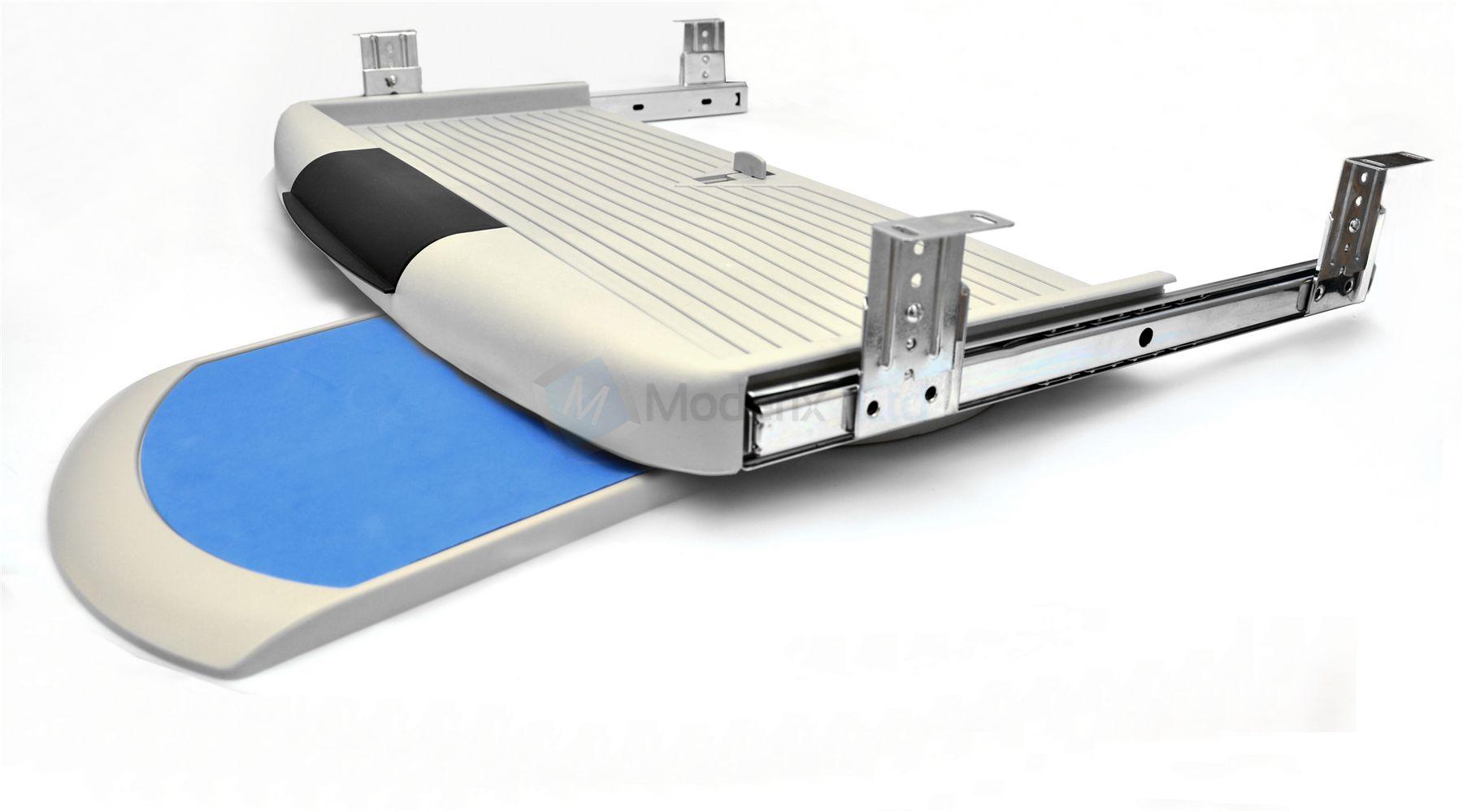 Under desk computer keyboard tray mouse tray, shelf, sliding drawer complete kit | eBay