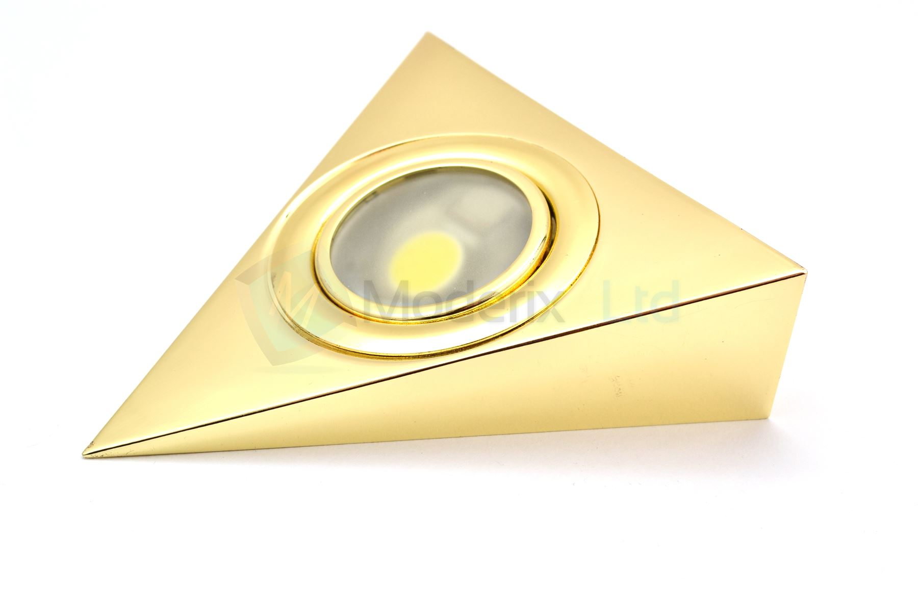 Led Triangle Gold Kitchen Under Cabinet Light Warm White