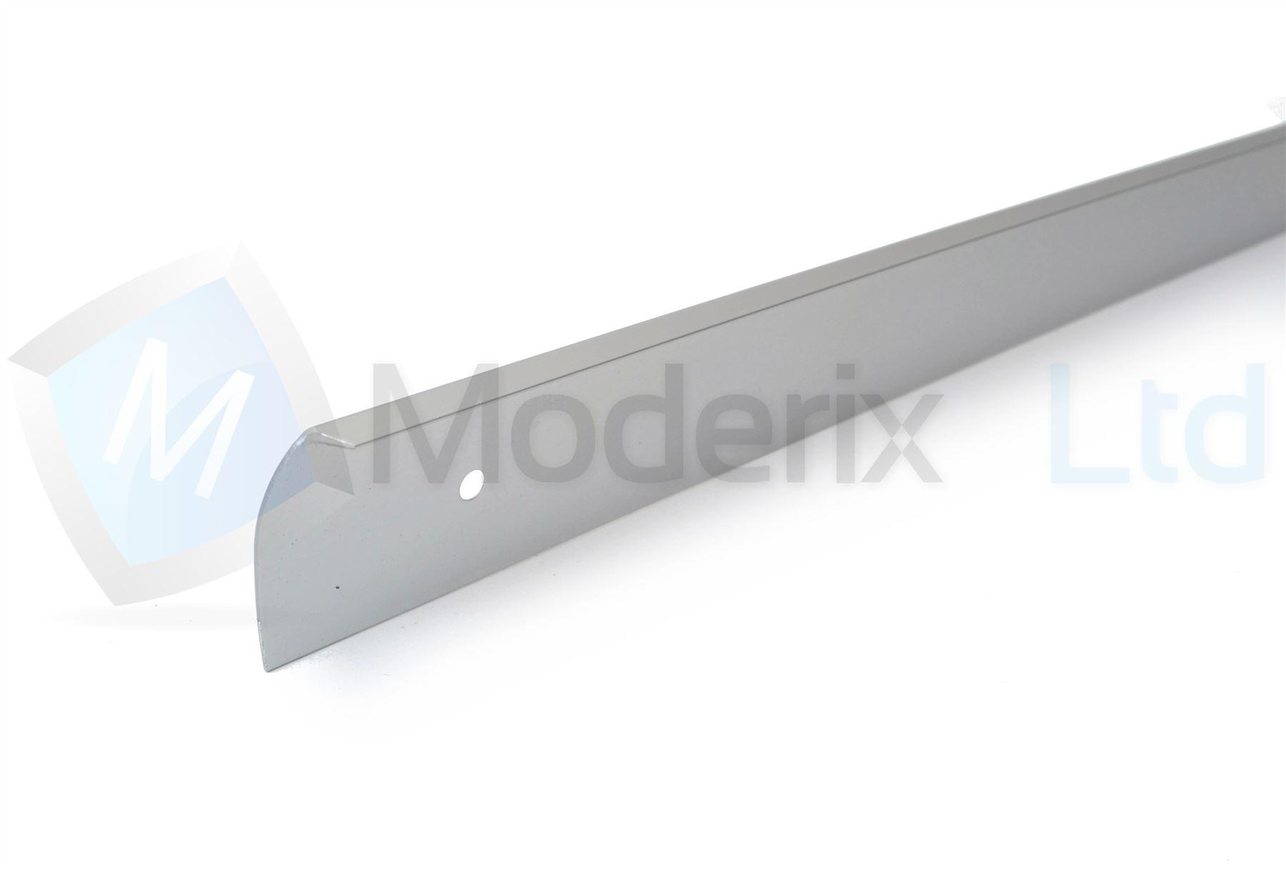 kitchen worktop edging corner joint trim strip aluminium end cap 30mm ebay. Black Bedroom Furniture Sets. Home Design Ideas