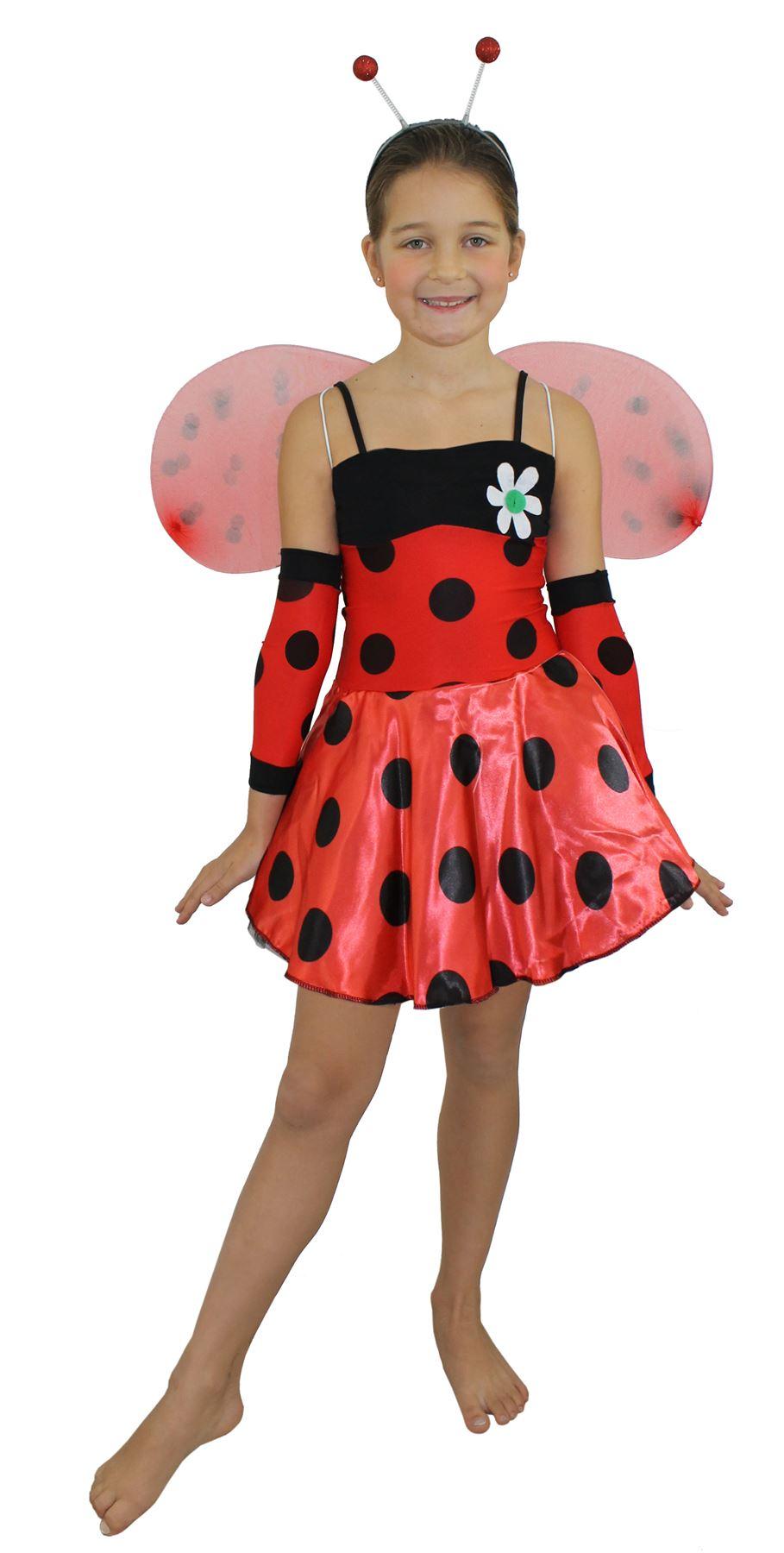 Acerca de disfraz de insecto para chica traje de mariquita para ni 209 a