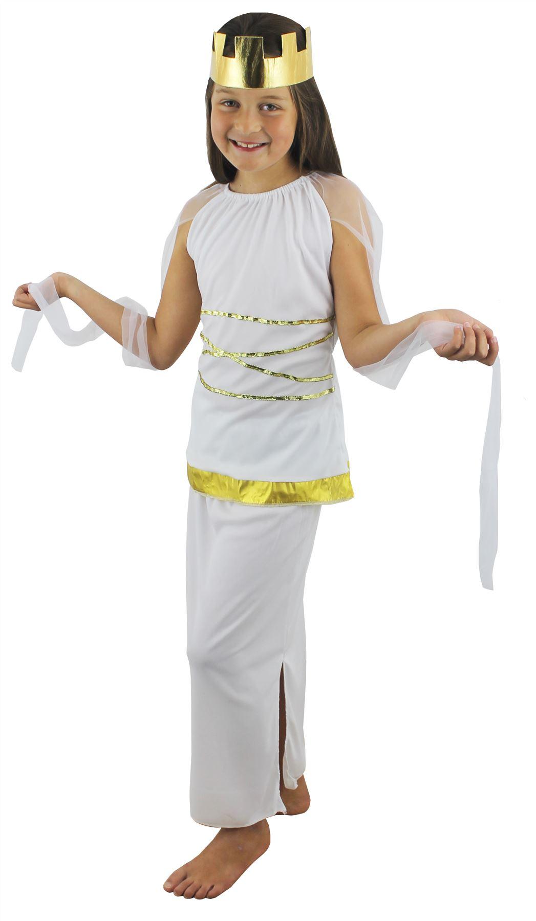 costume d esse grecque romaine antique historique ath na d guisement fille ebay. Black Bedroom Furniture Sets. Home Design Ideas