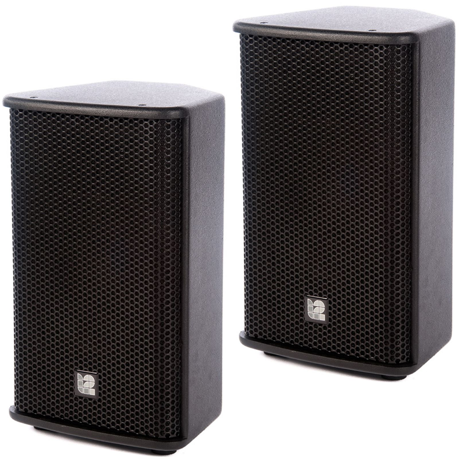 l2 audio tm10h 10 200w rms plywood pa speaker cabinet stage monitor pair ebay. Black Bedroom Furniture Sets. Home Design Ideas
