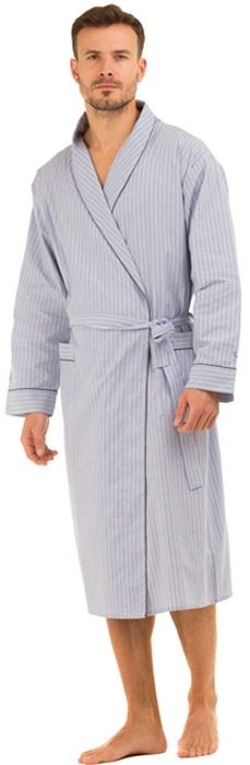 Cotton dressing gowns are easy to bang in the washing machine if you've monged just a little too hard in one, and if you purchase a cotton towelling dressing gown, it'll wick away any left.