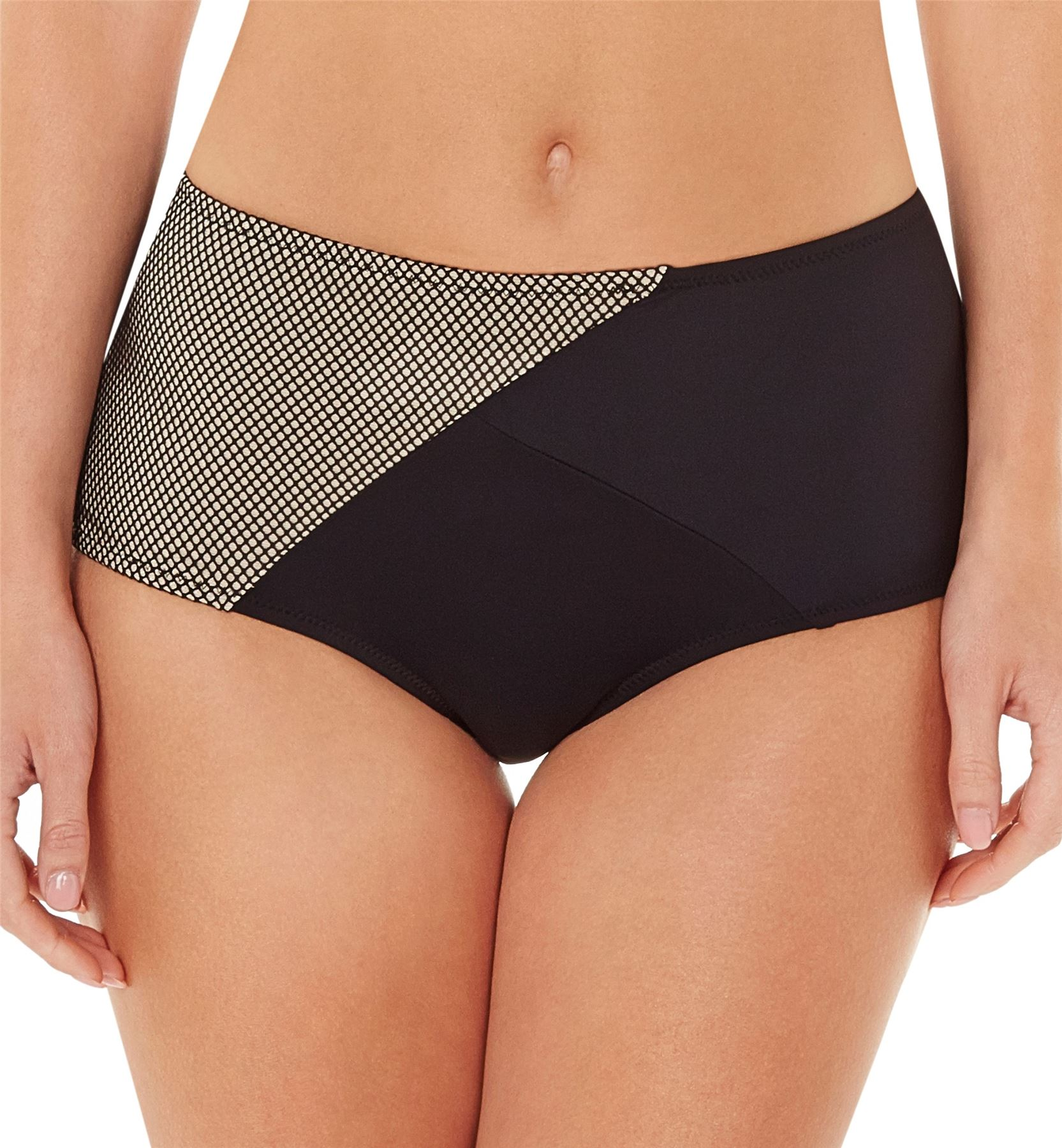 bikini hohe hose asos mix and match contrast high waist. Black Bedroom Furniture Sets. Home Design Ideas