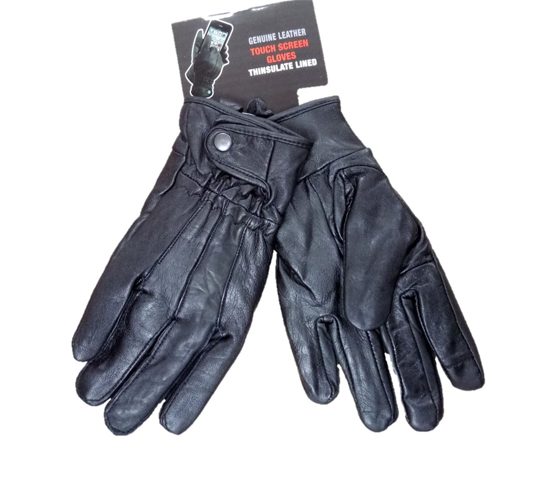 Ladies leather gloves with thinsulate - Mens Or Ladies Genuine Leather Gloves With 40 Gram 3m Thinsulate Lining