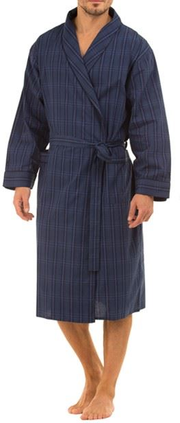 Cotton dressing gowns are lightweight and easy to wash. It can also keep you cool during the summer months. Silk dressing gowns, on the other hand, are very popular with its soft, delicate, lightweight, and strong material that gives you a sensual feel.