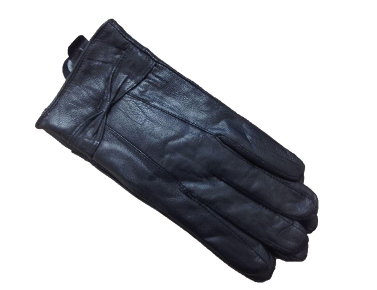 Ladies Womens Soft Sheepskin Real Leather Gloves Fleece