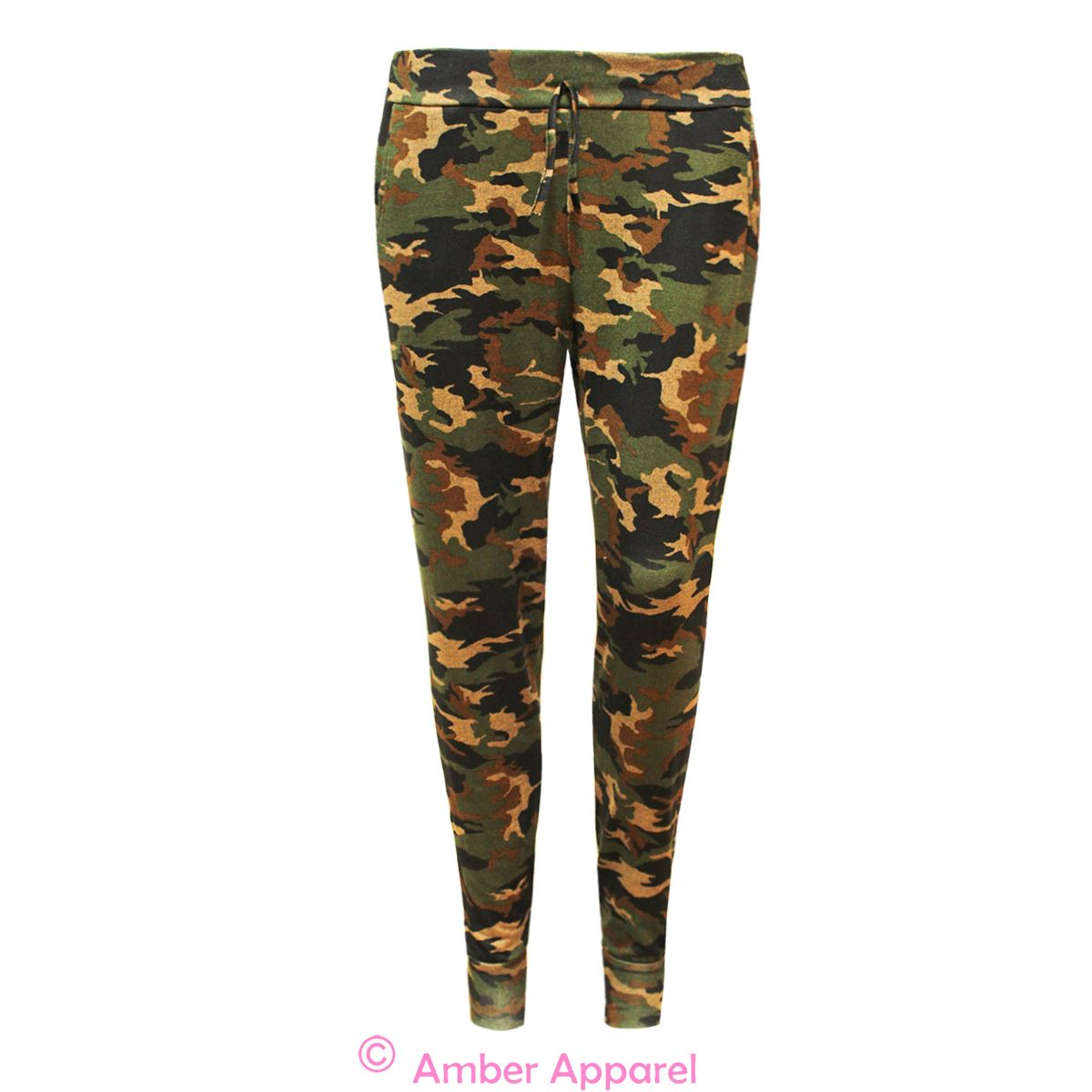 Beautiful 22 New Jogger Pants For Women Camouflage | Sobatapk.com