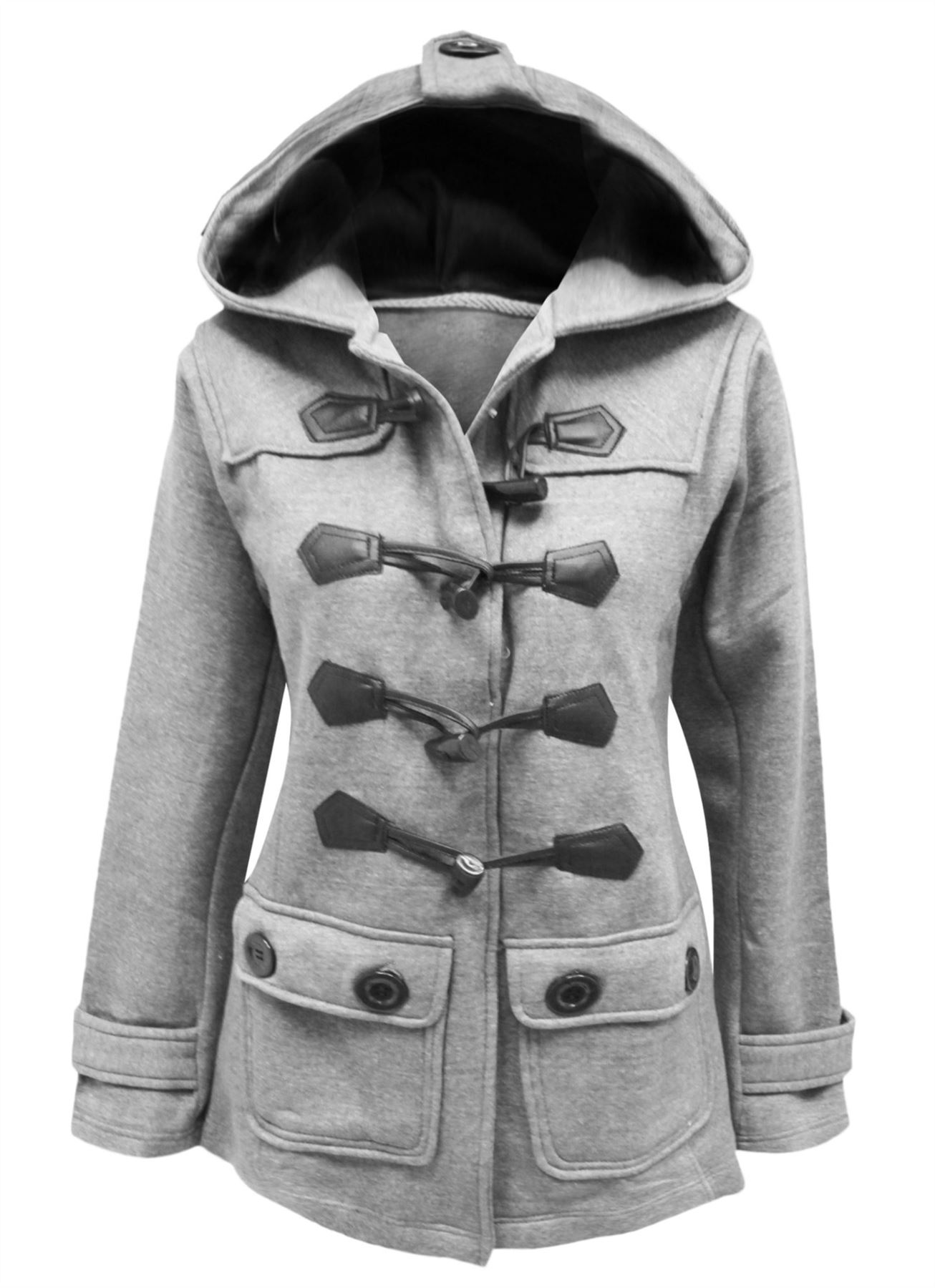 Toggle coat for women