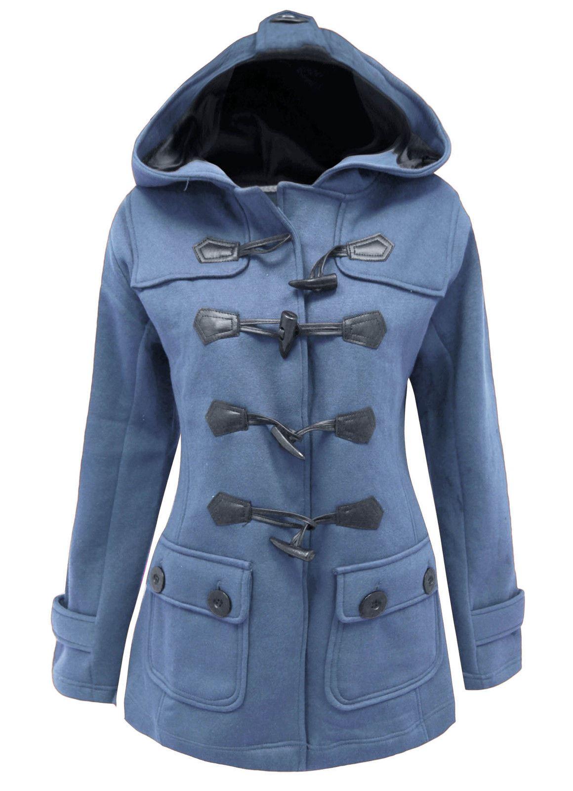 Womens duffle jacket