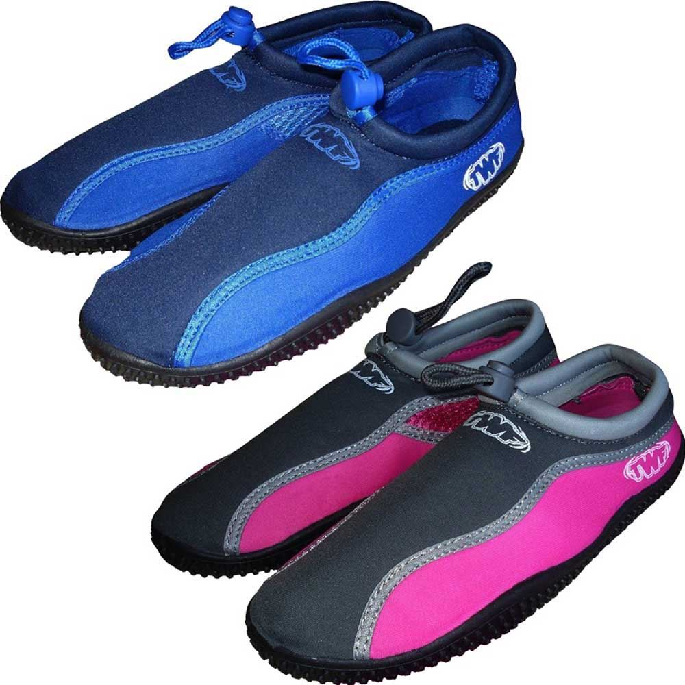62da381d1a5460 Image is loading TWF-Plain-Watersports-Kids-Beach-Shoes-for-Boys-