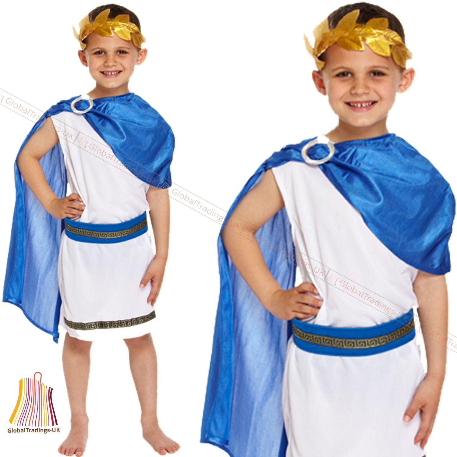 Caesar Boys Costume Roman Greek Ancient Kids Fancy  sc 1 st  Connecting Info by tpschina.org in 2018 & 93+ Greek Costume For Kids - Child Greek Goddess Costume Age 4 11 ...