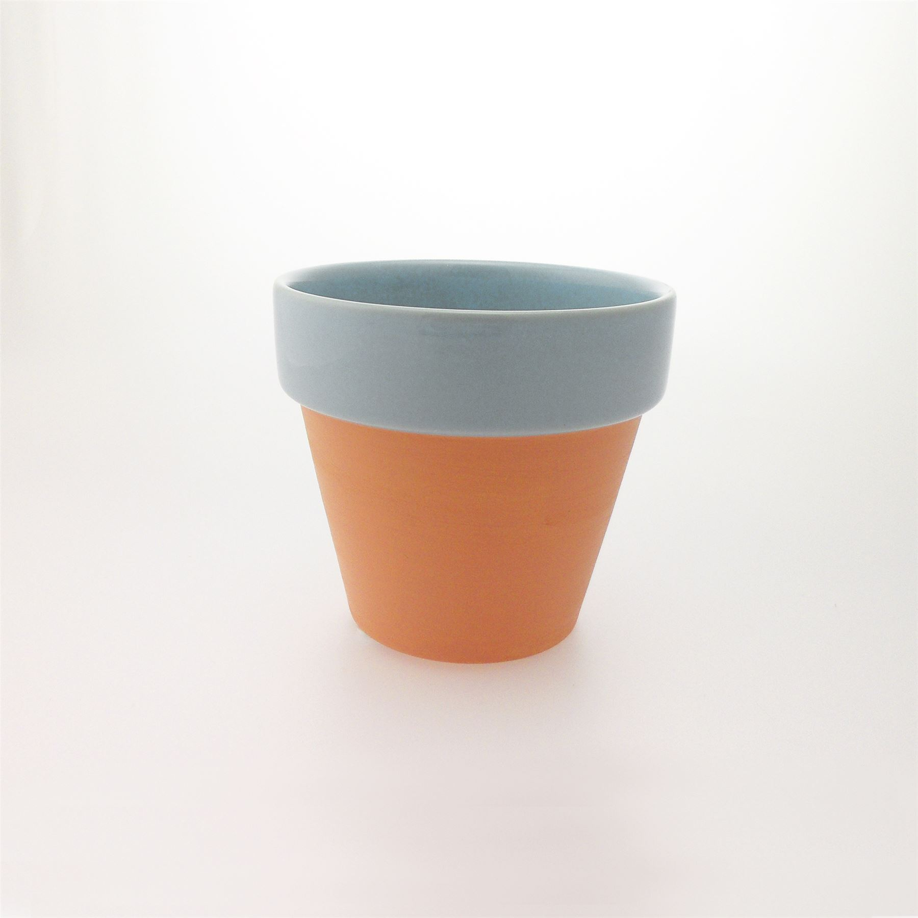 Decorative terracotta plant little flower pots clay for Small clay flower pots