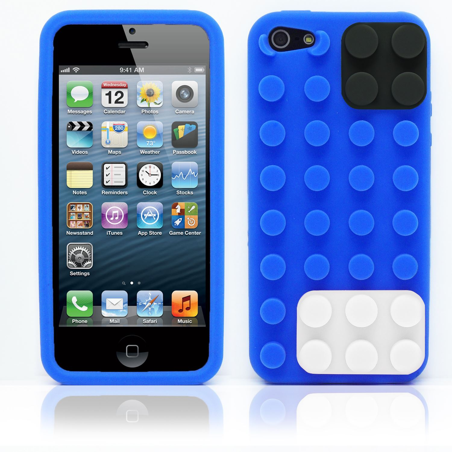custodia silicone iphone 5s