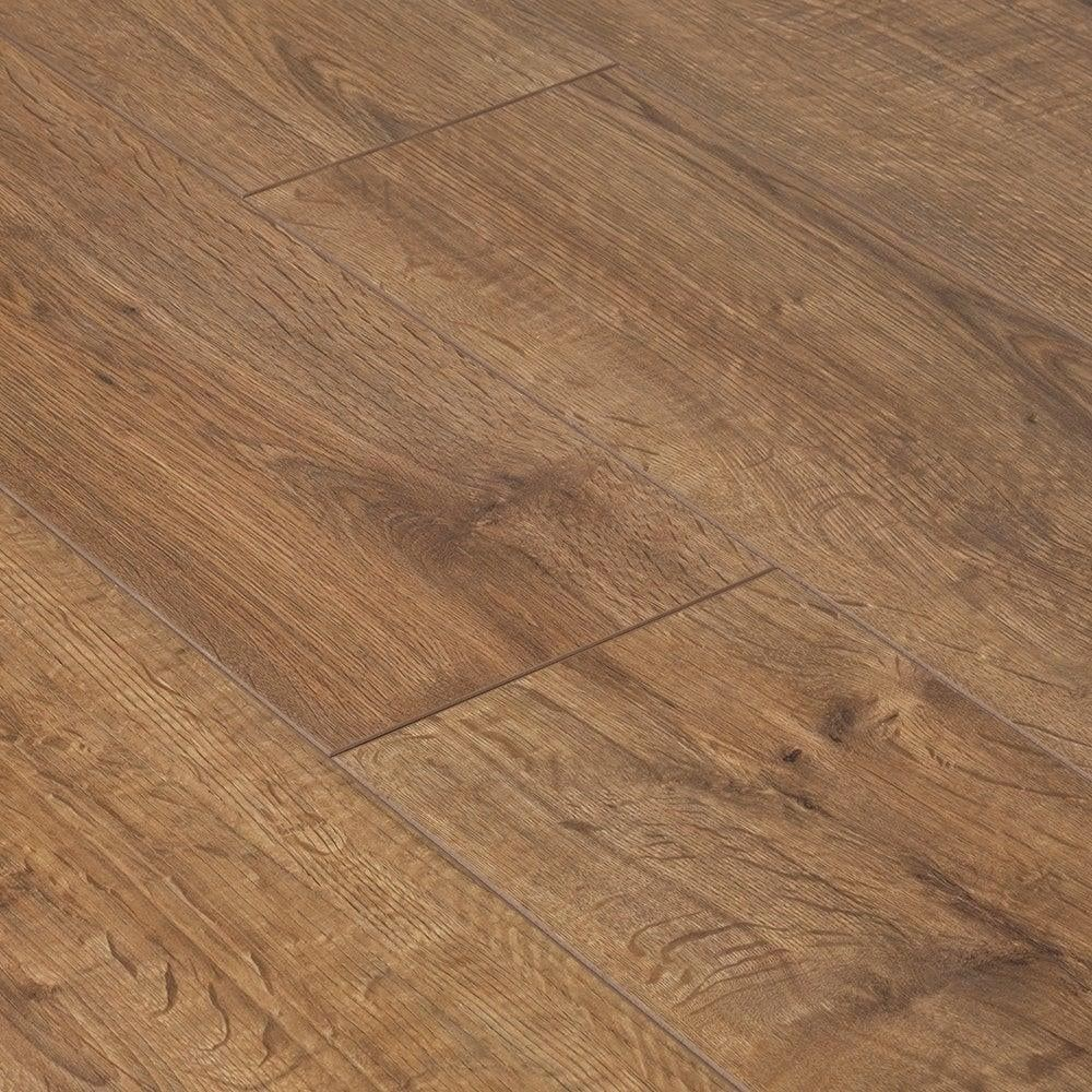 Advanced quality hdf laminate flooring v groove bevel edge for Quality laminate flooring