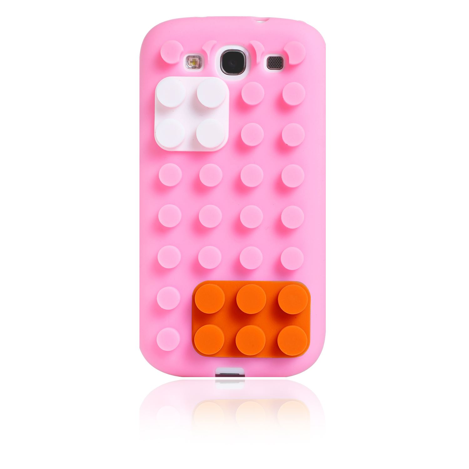... BLOCKS STAND SOFT SILICONE COVER CASE FOR SAMSUNG GALAXY S3 III : eBay