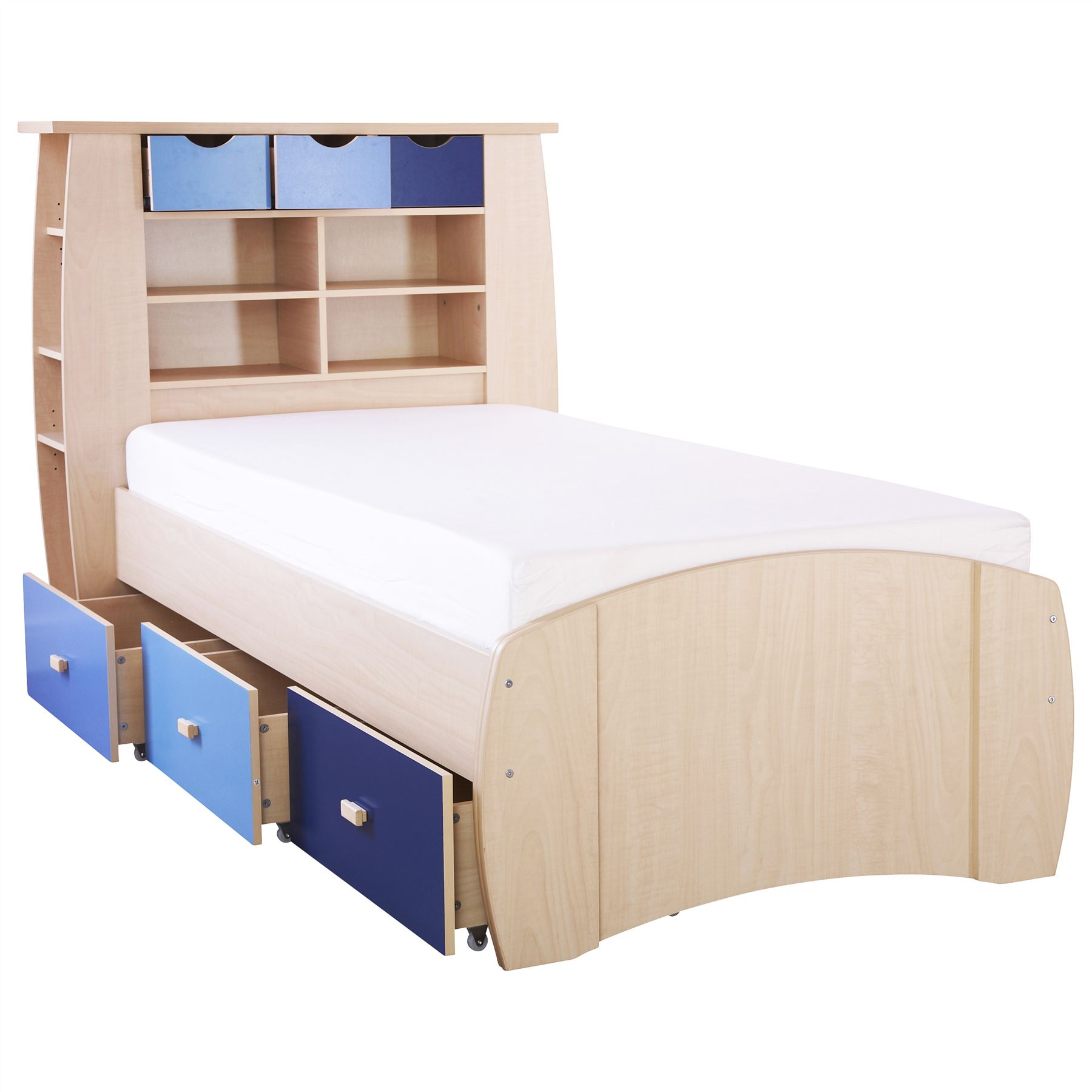 Cheap kids beds white bunk bed twin over full with for Cheap kids bed frames
