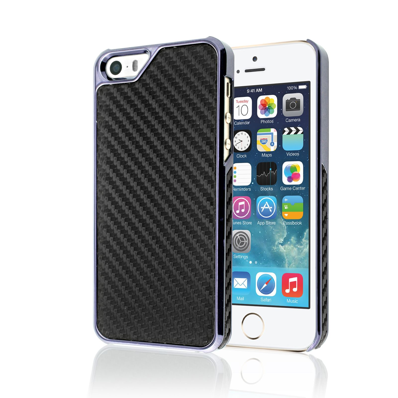 Carbon fibre plastic metal style case protector back cover for Case in metallo stile ranch