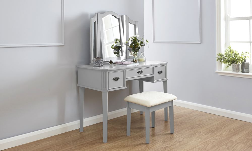 Bella Dressing Table Set Makeup Vanity Desk W Stool Amp 3