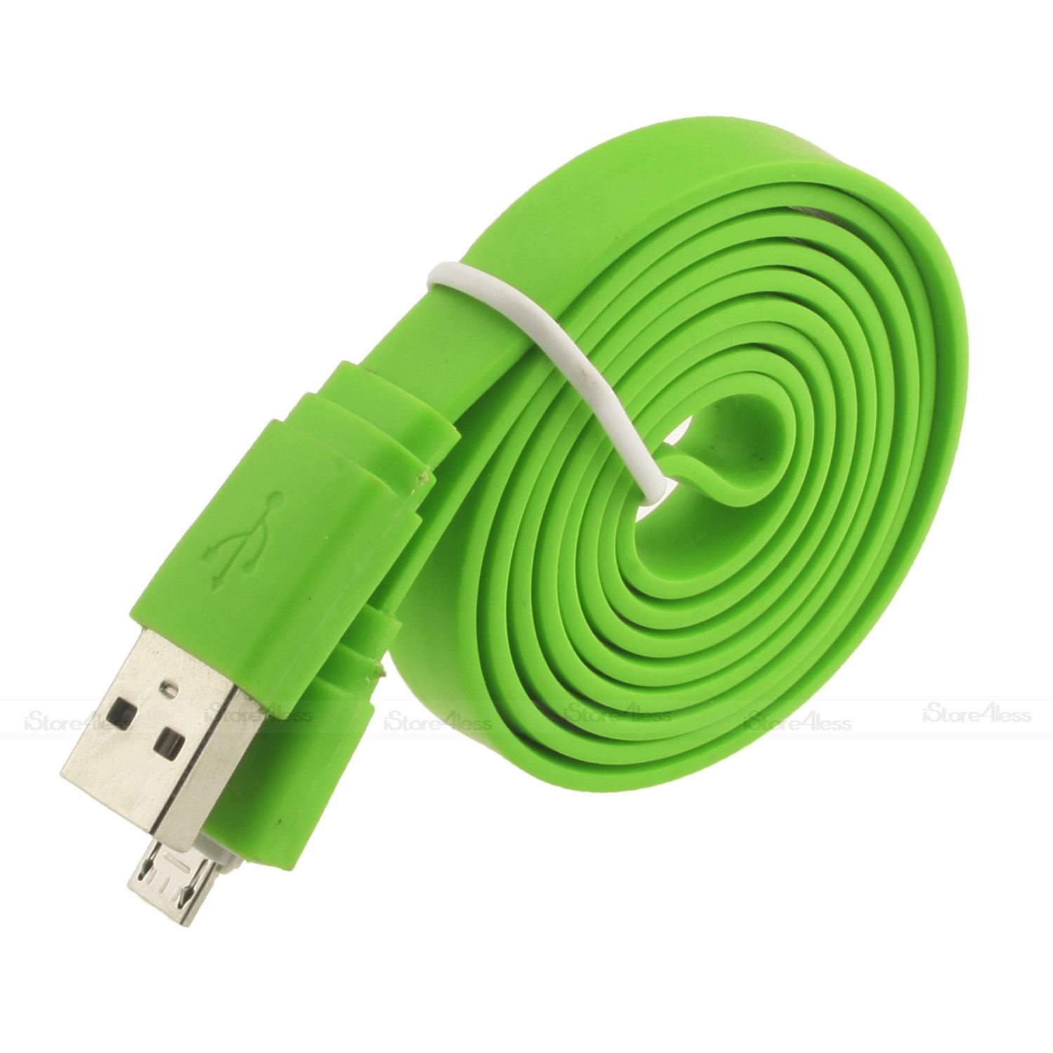 1M 2M 3M FLAT NOODLE MICRO USB CHARGER CABLE FOR SAMSUNG GALAXY S2 S3 S4 NOTE 2