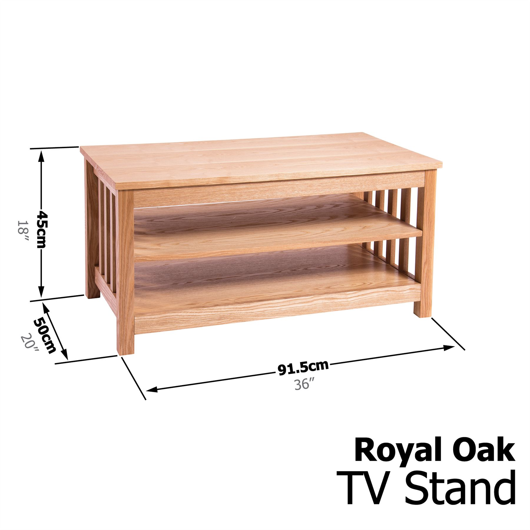 ROYAL OAK LIVING ROOM BOOKCASE TV UNIT STAND COFFEE LAMP  -> Tv Schrank Royal Oak