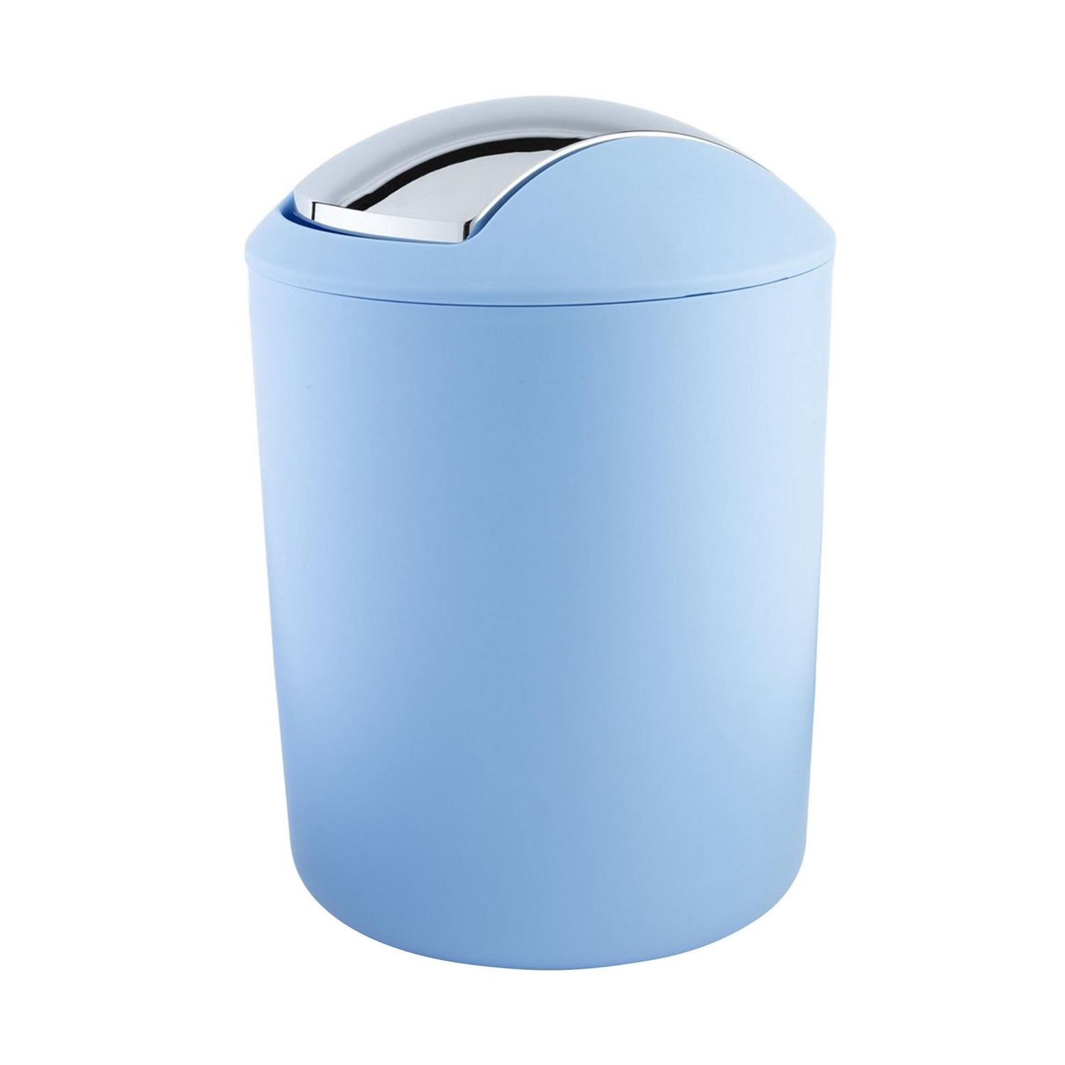 BATHROOM ACCESSORIES PLASTIC TOILET BRUSH & TOILET BIN