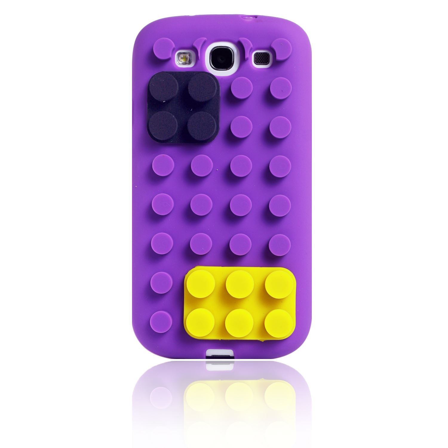 BUILDING 3D LEGO BLOCKS STAND SOFT SILICONE COVER CASE FOR