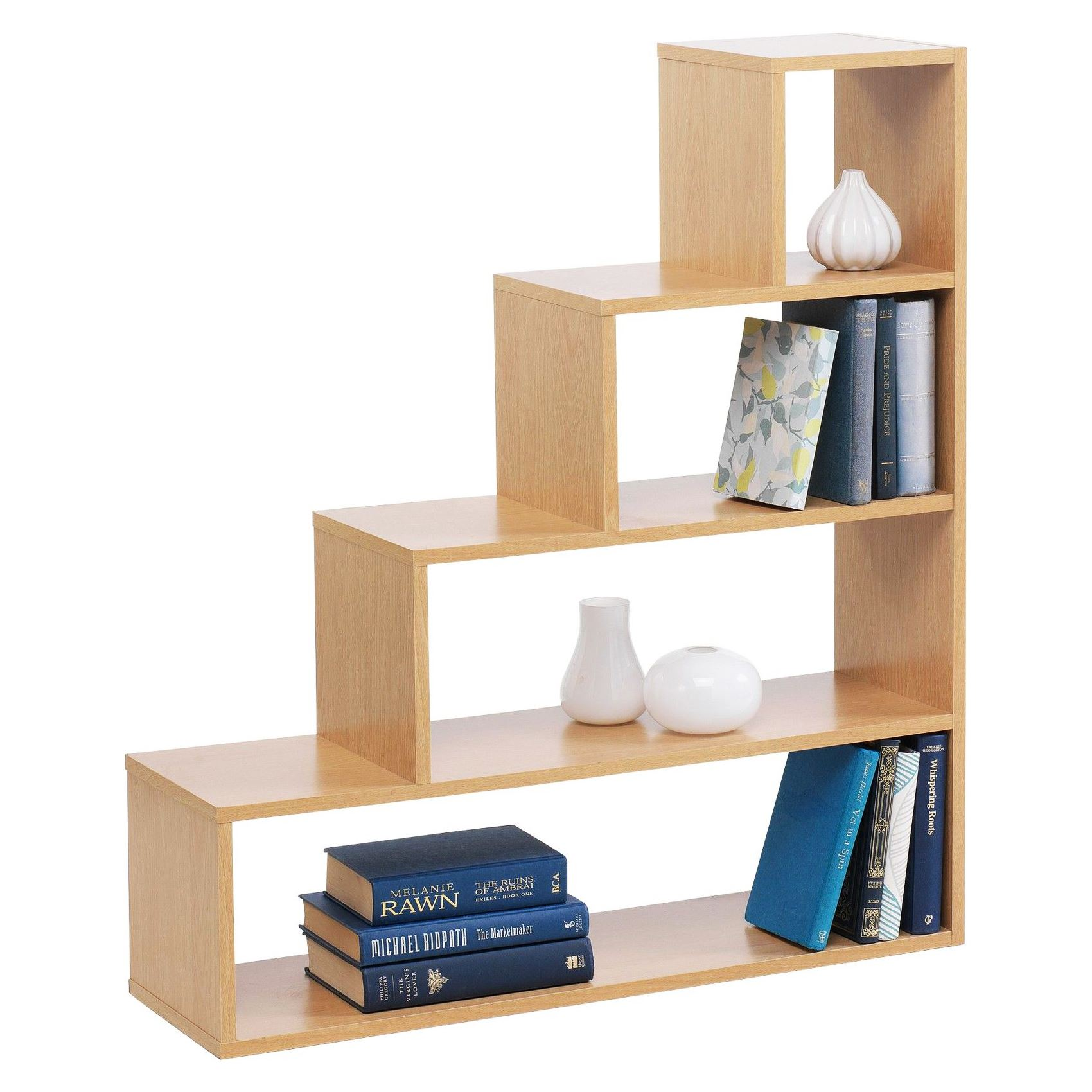 Stylish understairs 4 tier cube step bookcase shoe storage Stylish shoe rack
