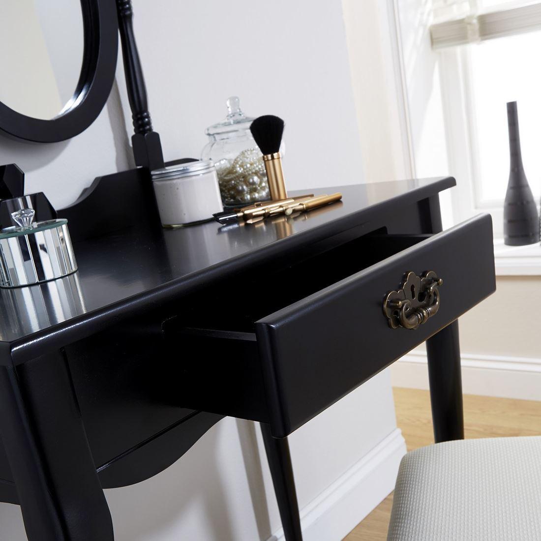 Makeup Dresser Queen Anne Style Dressing Table Set Makeup Dresser Desk Fabric