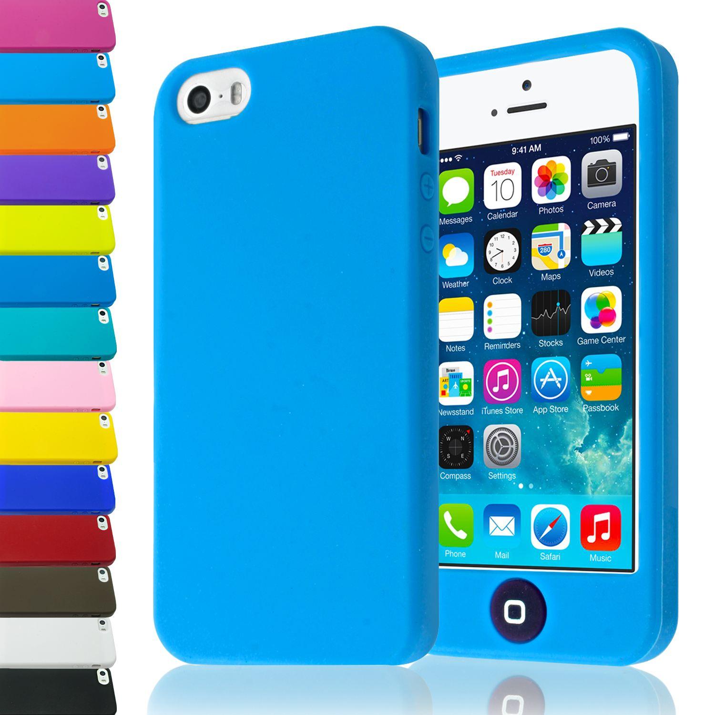 Case Design solid gold phone case : Plaine-silicone-souple-couverture-arriere-de-protection-cas-avec-gros ...
