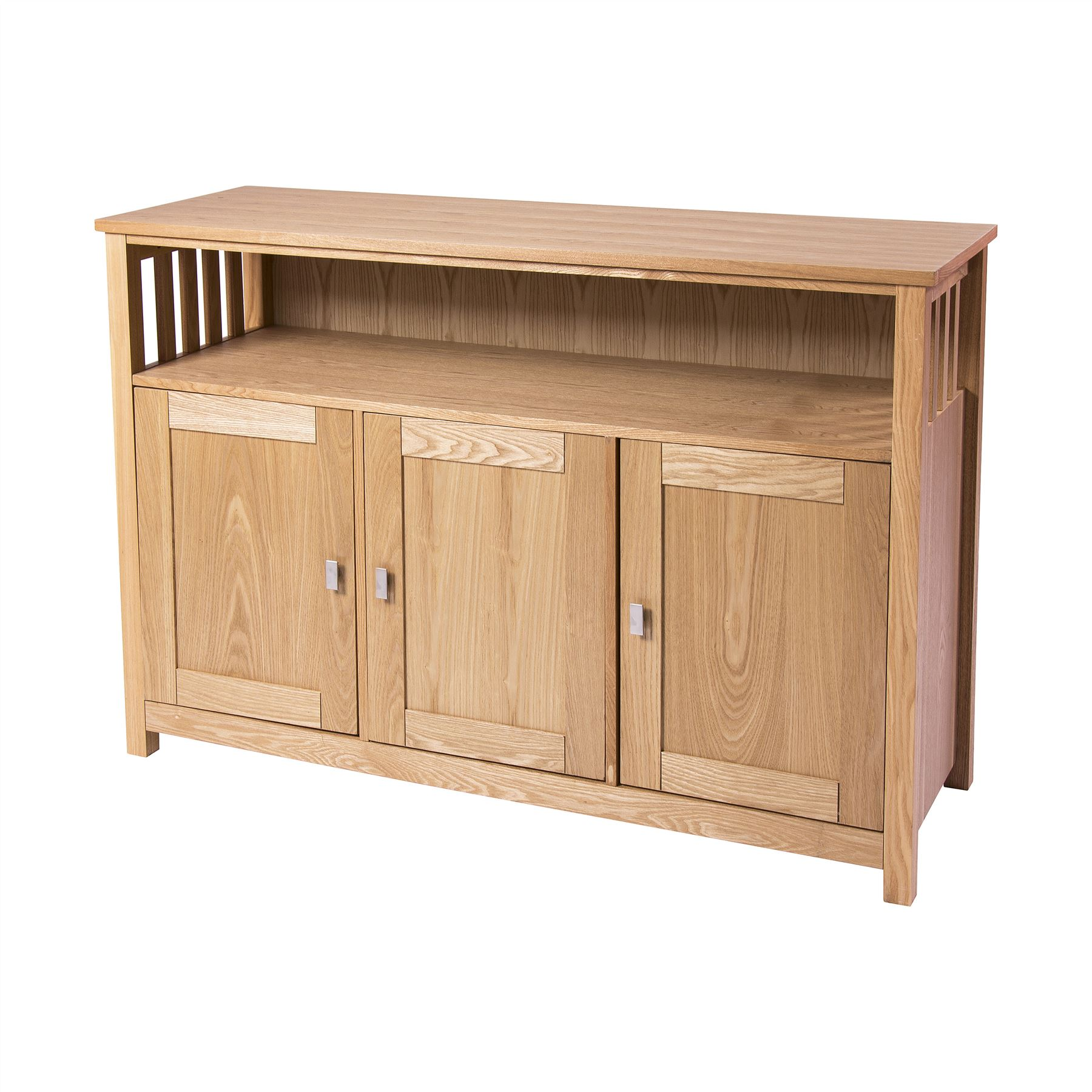 ROYAL OAK LIVING ROOM BOOKCASE TV UNIT STAND COFFEE LAMP NEST TABLE SIDEBOARD -> Oak Tv Sideboard Unit
