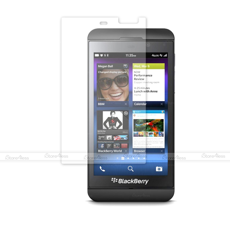 5 film protection cran lcd transparent top qualit pour for Photo ecran blackberry z10