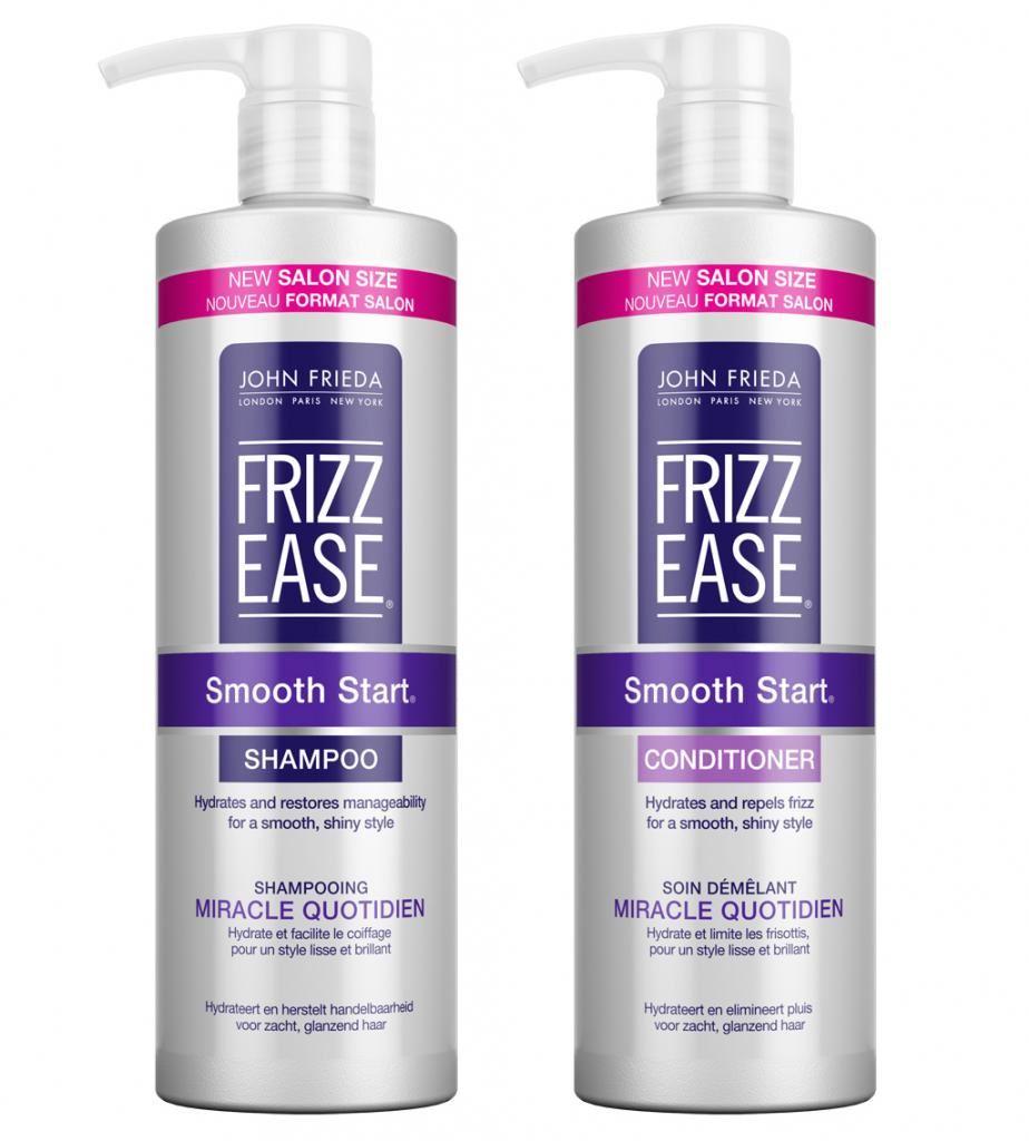 john frieda frizz ease smooth start shampoo conditioner 2. Black Bedroom Furniture Sets. Home Design Ideas