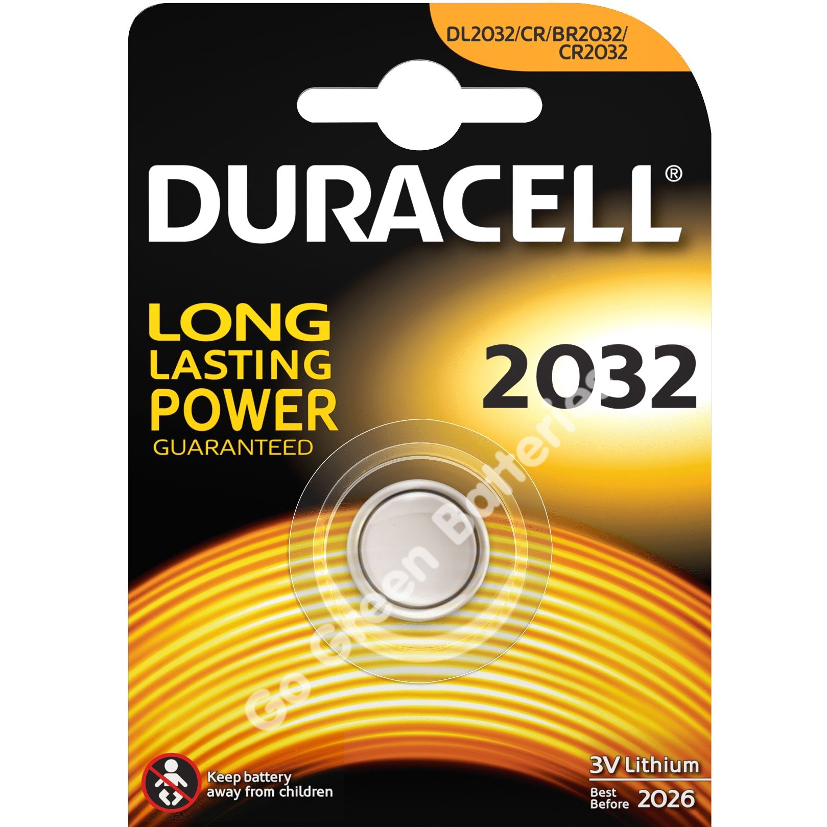 3 x duracell cr2032 3v lithium coin cell battery 2032. Black Bedroom Furniture Sets. Home Design Ideas