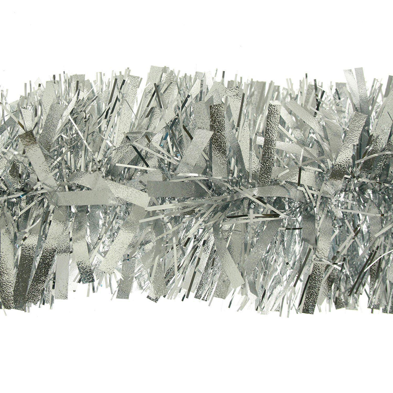 KRAFTZ® Thick Chunky Christmas Tree Tinsel Garland 2m (6