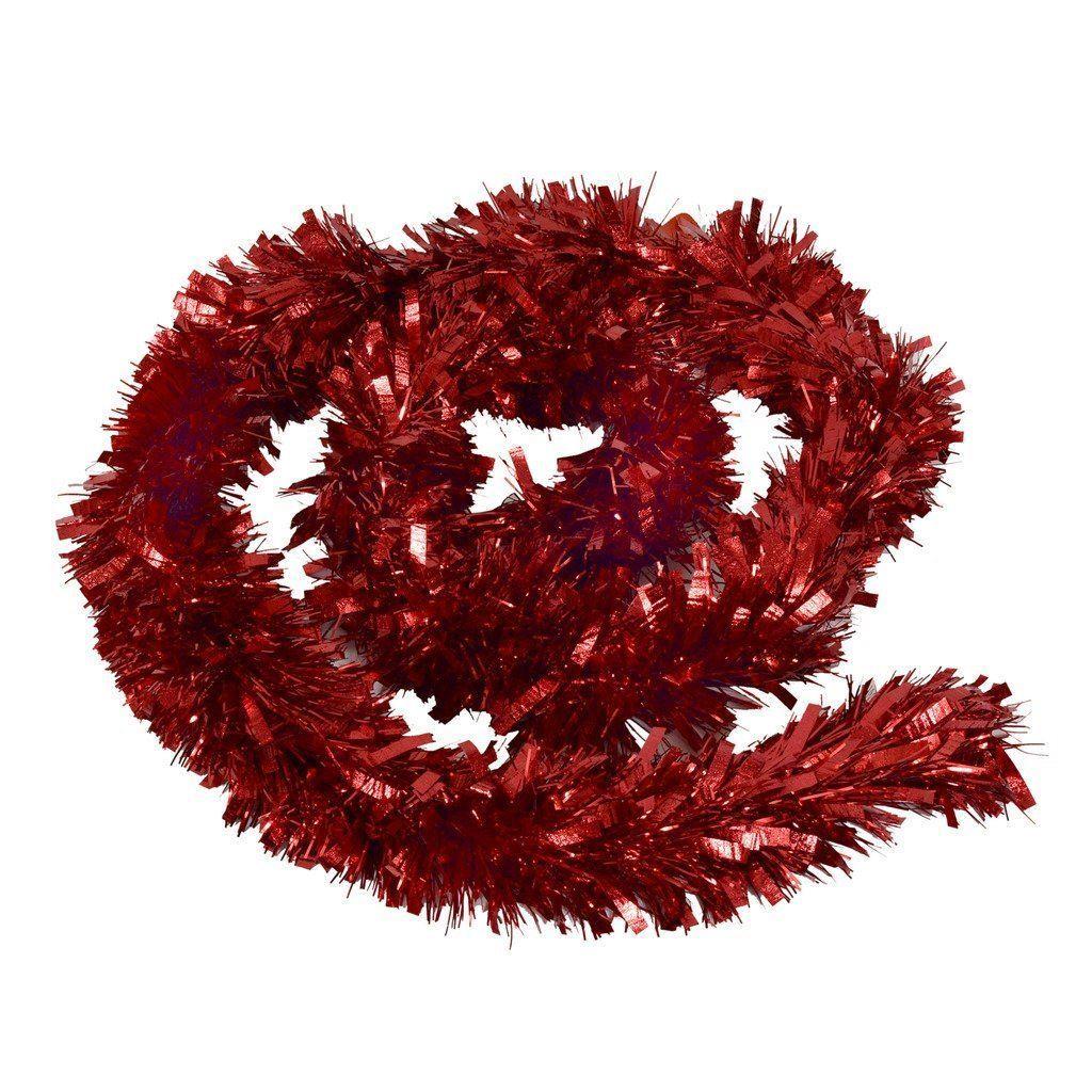 Tinsel Christmas Tree: KRAFTZ® Thick Chunky Christmas Tree Tinsel Garland 2m (6
