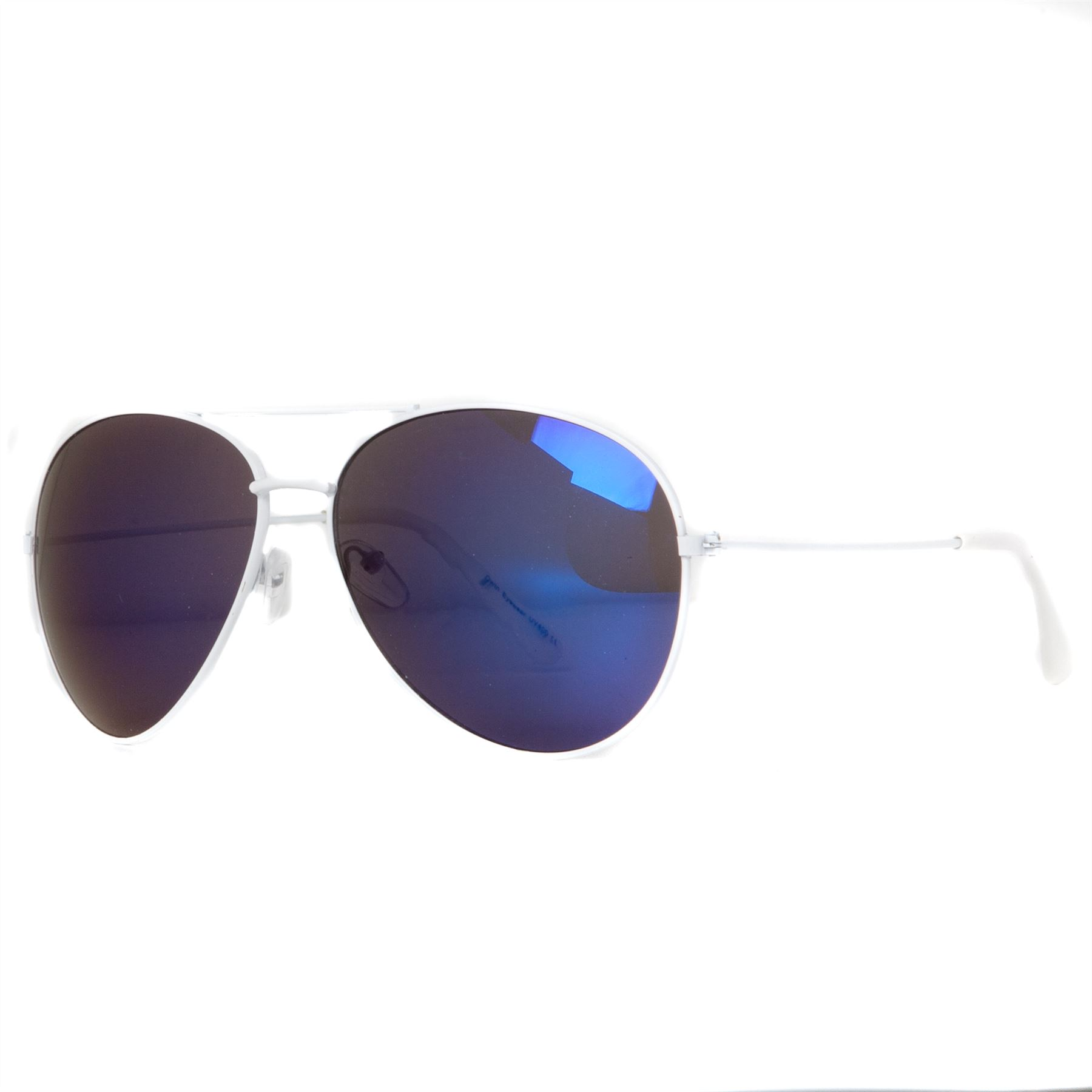 blue aviator sunglasses  bridge aviator