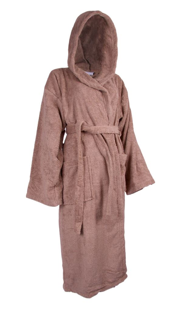 n130 mens ladies warm hooded bath robe dressing gown 100 soft cotton bath time. Black Bedroom Furniture Sets. Home Design Ideas