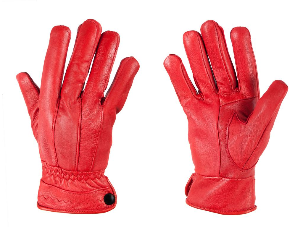 Leather driving gloves on ebay - G132 Ladies Seamed Soft Coloured Leather Fleece Lined