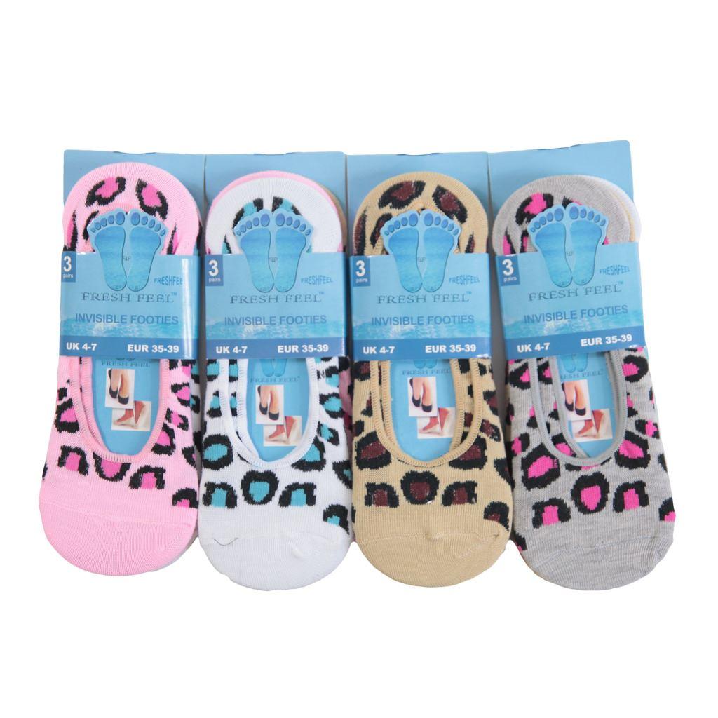 L048 Para Mujer Chicas 12prs Invisible Manitas Zapato Forro Trainer Ballerina Calcetines